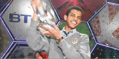 Somali teen takes top Euro award