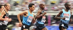 Mo Farah wins 3,000 metres at the Anniversary Games after brilliant final lap