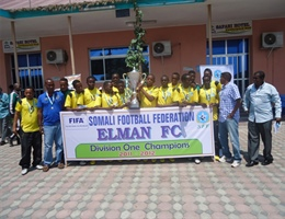 ELMAN FC WIN SOMALI LEAGUE TITLE 2012