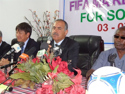 FIFA Training course for Somali football referees gets under way in Djibouti