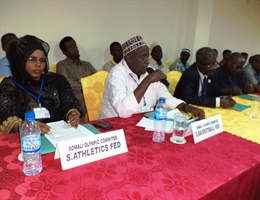 SOMALI NOC CONGRESS ELECTS NEW CHIEF